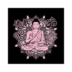Ornate Buddha Acrylic Tangram Puzzle (6  x 6 )