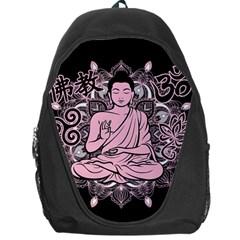 Ornate Buddha Backpack Bag