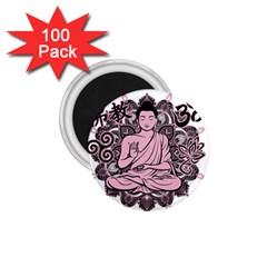 Ornate Buddha 1.75  Magnets (100 pack)