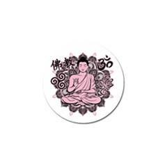 Ornate Buddha Golf Ball Marker (4 pack)