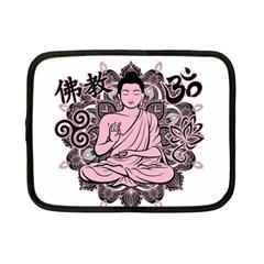 Ornate Buddha Netbook Case (Small)