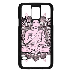 Ornate Buddha Samsung Galaxy S5 Case (Black)