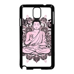 Ornate Buddha Samsung Galaxy Note 3 Neo Hardshell Case (Black)