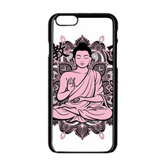 Ornate Buddha Apple iPhone 6/6S Black Enamel Case