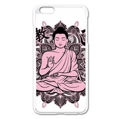 Ornate Buddha Apple iPhone 6 Plus/6S Plus Enamel White Case