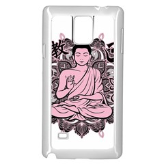 Ornate Buddha Samsung Galaxy Note 4 Case (White)