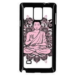 Ornate Buddha Samsung Galaxy Note 4 Case (Black)