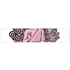 Ornate Buddha Flano Scarf (Small)