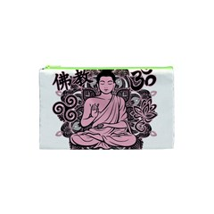 Ornate Buddha Cosmetic Bag (XS)