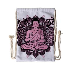 Ornate Buddha Drawstring Bag (Small)