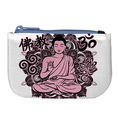 Ornate Buddha Large Coin Purse