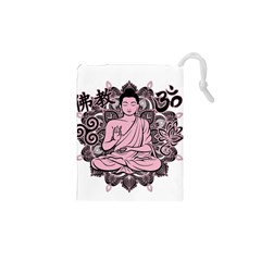 Ornate Buddha Drawstring Pouches (XS)