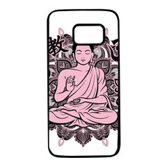 Ornate Buddha Samsung Galaxy S7 Black Seamless Case