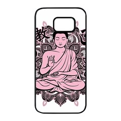 Ornate Buddha Samsung Galaxy S7 edge Black Seamless Case