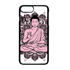 Ornate Buddha Apple iPhone 7 Plus Seamless Case (Black)