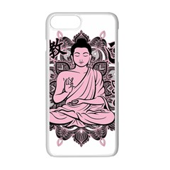 Ornate Buddha Apple iPhone 7 Plus White Seamless Case