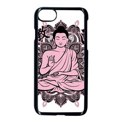 Ornate Buddha Apple iPhone 7 Seamless Case (Black)