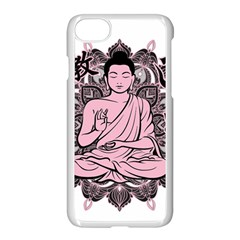 Ornate Buddha Apple iPhone 7 Seamless Case (White)
