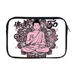 Ornate Buddha Apple MacBook Pro 17  Zipper Case