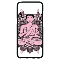 Ornate Buddha Samsung Galaxy S8 Black Seamless Case