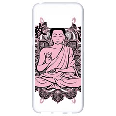Ornate Buddha Samsung Galaxy S8 White Seamless Case