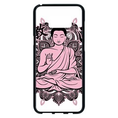 Ornate Buddha Samsung Galaxy S8 Plus Black Seamless Case