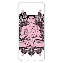 Ornate Buddha Samsung Galaxy S8 Plus White Seamless Case
