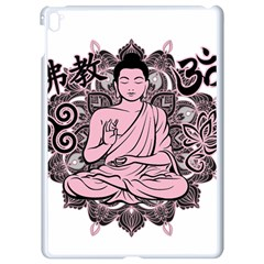 Ornate Buddha Apple iPad Pro 9.7   White Seamless Case