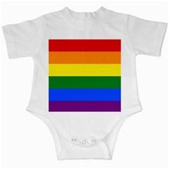 Pride Rainbow Flag Infant Creepers