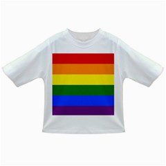 Pride rainbow flag Infant/Toddler T-Shirts