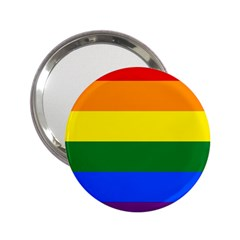 Pride rainbow flag 2.25  Handbag Mirrors