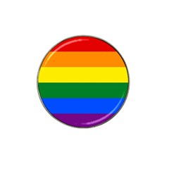 Pride rainbow flag Hat Clip Ball Marker (4 pack)