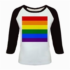 Pride rainbow flag Kids Baseball Jerseys