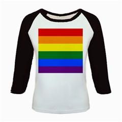 Pride rainbow flag Kids Baseball Jerseys