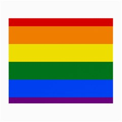 Pride rainbow flag Small Glasses Cloth