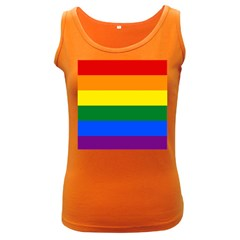 Pride rainbow flag Women s Dark Tank Top