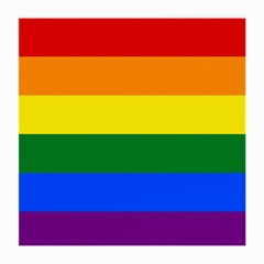 Pride rainbow flag Medium Glasses Cloth (2-Side)