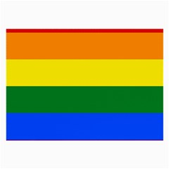 Pride rainbow flag Large Glasses Cloth