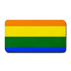Pride rainbow flag Medium Bar Mats