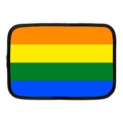Pride rainbow flag Netbook Case (Medium)