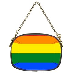 Pride rainbow flag Chain Purses (One Side)