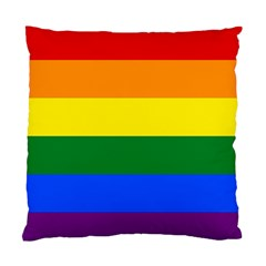 Pride rainbow flag Standard Cushion Case (Two Sides)