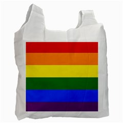 Pride rainbow flag Recycle Bag (Two Side)
