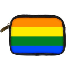 Pride rainbow flag Digital Camera Cases