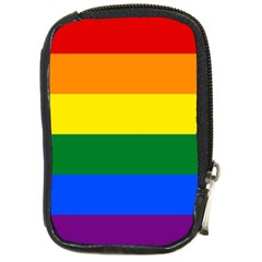 Pride rainbow flag Compact Camera Cases