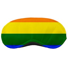 Pride rainbow flag Sleeping Masks