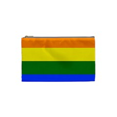Pride rainbow flag Cosmetic Bag (Small)