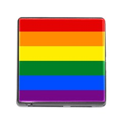 Pride rainbow flag Memory Card Reader (Square)