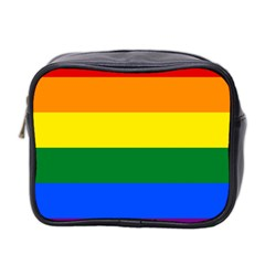Pride rainbow flag Mini Toiletries Bag 2-Side