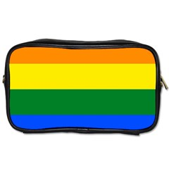 Pride rainbow flag Toiletries Bags 2-Side